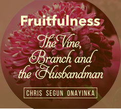 Fruitfulness. The Vine, Branch and the Husbandman