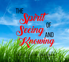 The Spirit of Seeing and Knowing