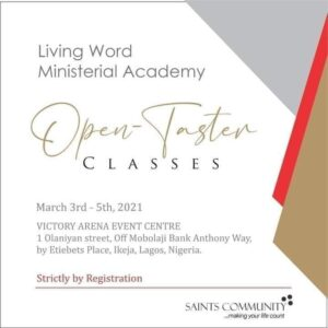 Open Taster Classes