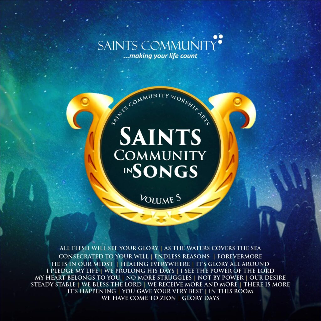 saints community in songs vol 5